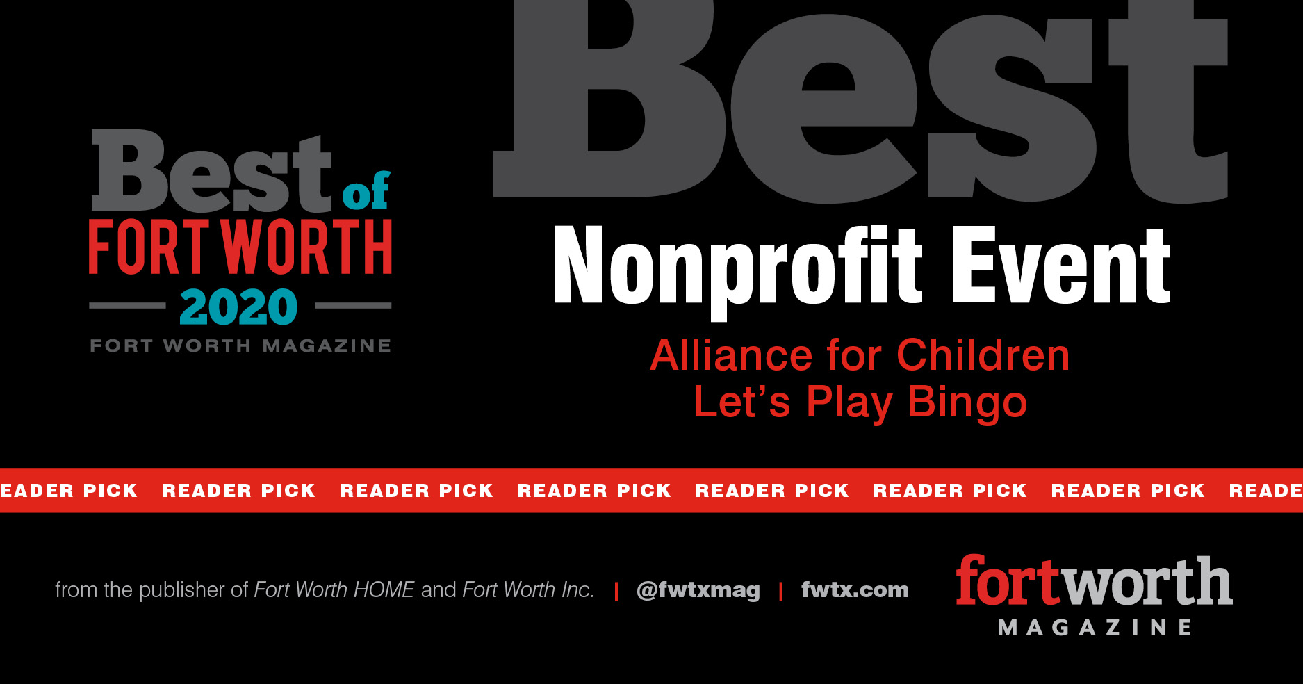 Best of Fort Worth Reader's Choice Best Non-Profit Event